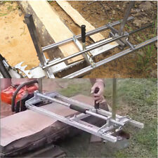 Portable Chain Saw Chainsaw Mill 36 Inch Planking Milling Bar Size 14'' to 36''