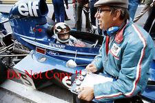 Jackie Stewart & Ken Tyrell F1 Portrait 1973 Photograph