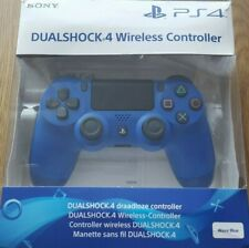 PS4 DUALSHOCK 4 Wave BLUE CONTROLLER - BOXED