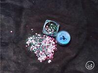 Biodegradable chunky Glitter face body eye tattoo festival club ibiza