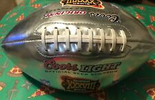 Coors Light Super Bowl XXXVIII Special Edition Collectible Silver Promo Football