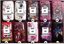 STYLISH PRINTED SILICONE GEL CASE COVER FOR iPhone 3/3g/3gs MOBILE PHONES #S