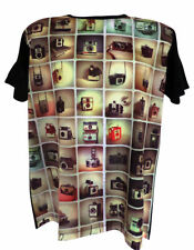 Unbranded Polycotton Short Sleeve Fitted T-Shirts for Men
