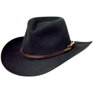 Stetson Bozeman Crushable Cowboy Western Hat XL (7 5/8 - 7 3/4) Made in USA