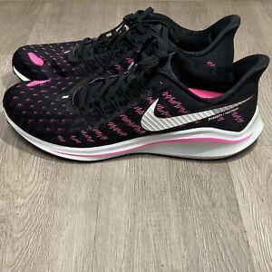 Nike Air Zoom Vomero 14 Running Shoes Black Pink Blast AH7857-007 Men's Size 12