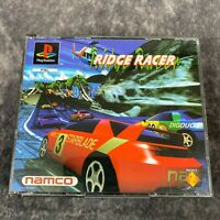 Ridge Racer PS1 PlayStation 1 PAL Game Complete Original Rare Big Box Namco