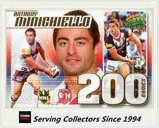 Select NRL Limited Edition Case Card: 2011 NRL Champions CC24 A. Minichiello