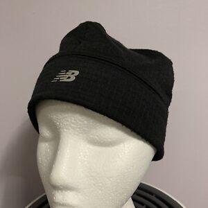 New Balance Black Beanie Hat Skull Cap. One Size Fits Most