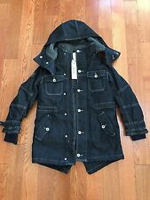 NWT Diesel Kid's Unisex Denim Quilted Jacket Size S