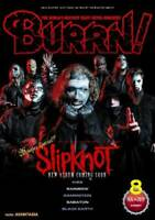 BURRN August 2019 Hard Rock Heavy Metal Magazine Japan SLIPKNOT Kiss Rainbow