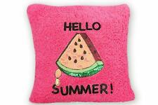 """Decorative Pillow Cushion Covers Room Tropical Sweet Pink Watermelon 18"""" x 18"""""""