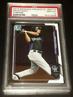 2015 Bowman Chrome Prospects #BCP19 David Dahl PSA 10 GEM Mint