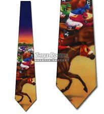 Horse Tie Kentucky Derby Neckties Mens Horse Neck Ties