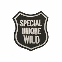 Special Unique wild Badge (Iron on) Embroidery Applique Patch Sew Iron Badge