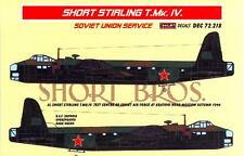 KORA Decals 1/72 SHORT STIRLING T.Mk.IV IN RUSSIAN SERVICE