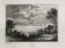 1835:MESSINA - CARIDDI_CAPO PELORO.(ME).SICILIA.Passpartout.AUDOT.Acciaio.ETNA