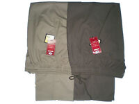 Mens Full Elasticated Waist Rugby trousers/ Pants Smart/Casual W32-48 L 27 29 31