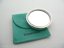 Tiffany & Co Silver 1837 Circle Round Purse Mirror Rare Classic Pouch Cool