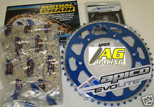 Yamaha YZ 250 99-08 Renthal 520 R1 Chain & Sprocket Set 15T 49T Blue