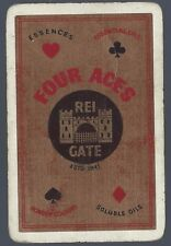 Swap Playing Vintage Card   Advertising  FOUR ACES   OILS