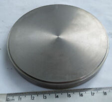 Pure titanium plate,diameter 98mm,high 12mm,for medical dentistry and teaching
