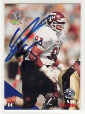SAM ADAMS TEXAS A&M  UNIVERSITY AUTOGRAPHED CARD