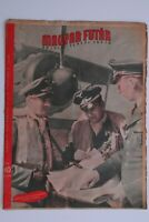MAGYAR FUTAR HUNGARIAN WW2 MAGAZINE JAN 1944 LONDON LUFTWAFFE PILOTS