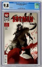 The Batman Who Laughs #5 DC 2019 CGC 9.8 Jock Cover Variant Highest Census Grade