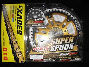 DID Supersprox Stealth Kettensatz Kettenkit Suzuki GSF 600 650 Bandit -Qualität-
