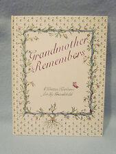 Grandmother Grandchild Baby Memory Keepsake Record Book Photo Album Journal-New