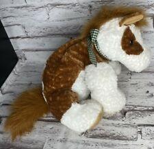 Mary Meyer FLIP FLOPS Brown Horse Pony Blue Bow plush stuffed animal Bean Bag