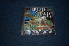 Breath of Fire IV Playstation Sellado