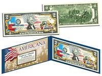 PEANUTS - CHARLIE BROWN - SNOOPY *Americana* Legal Tender US $2 Bill *Licensed*