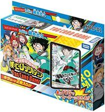 My hero academia HAD-01 tag card game Starter deck team Midoriya izuku Takara