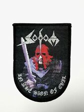 SODOM ( in the sign of evil ) WOVEN  PATCH