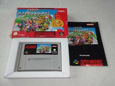 Super Mario Kart Super Nintendo SNES Spiel komplett mit OVP und Anleitung