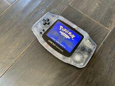 Nintendo Gameboy Advance GBA Backlight Funnyplaying IPS V2 - Transparency Shell