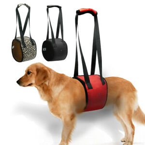 Dog Lift Support Harness Dogs Help Carrier Injured Back Hip Arthritis 4 Sizes