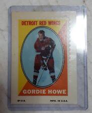OPC 1970-1971 Gordie Howe sticker stamp near mint