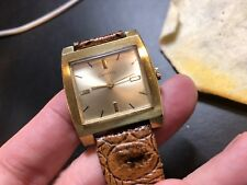 Vintage ZENTRA Gold Plated Hand Winding AS1526 Swiss Made 1970's