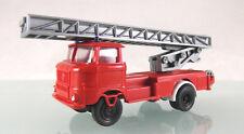 H0 s.e.s / Modelltec 14 1057 98: IFA W50 Drehleiter der Feuerwehr