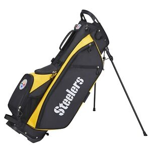 Wilson Staff - All New NFL Carry Golf Bag - Pittsburgh Steelers - 2021