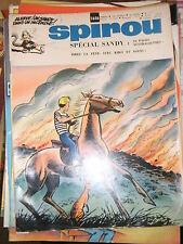 Spirou N° 1656 1970 Spécial Sandy Mini Récit Le fromage du cauchemar + poster