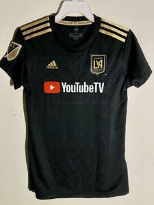 Adidas Women's MLS Jersey Los Angeles Los Angeles FC  LAFC Black sz 2XL