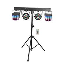 Led Dj Lighting Set, Rgb Party Bar Package Sound Activated Stage Lighting