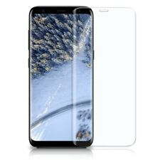 3D Panzer Glasfolie Samsung Galaxy S8 Curved 9H Display Schutz Folie Full Screen