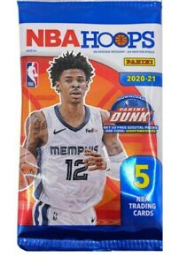 2020-21 Panini NBA Hoops 5 Cards per pack - Exclusive YELLOW Parallel Insert