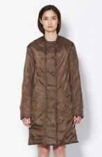 PHILLIP LIM long bomber jacket in brown size medium used as new puffer button up