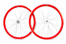 Ruedas Rueda trasera roja para bicicletas