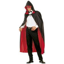 ROT-SCHWARZER WENDEUMHANG # Karneval Venedig Maskenball Umhang Kostüm Party 3576